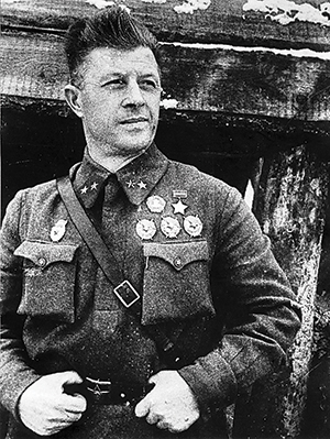 Генерал-майор Родимцев. 1942 г.