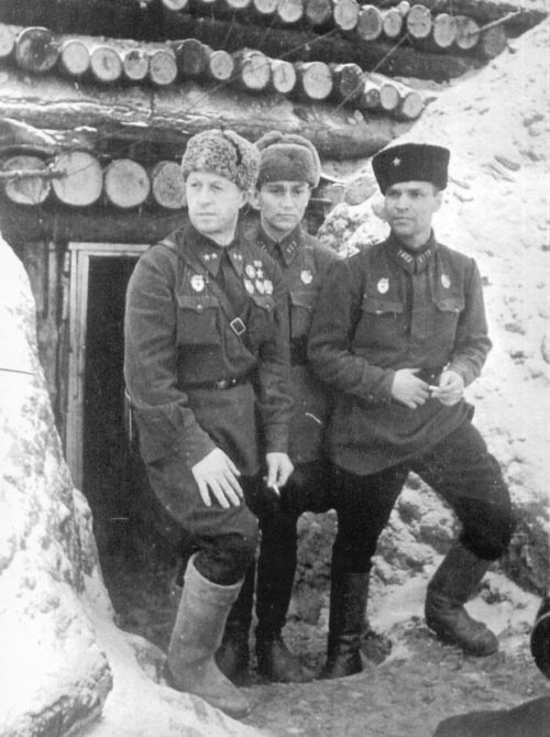 Родимцев под Сталинградом. 1943 г.