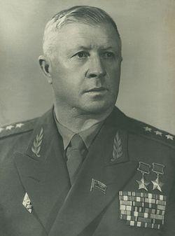 Генерал-полковник Родимцев. 1956 г.