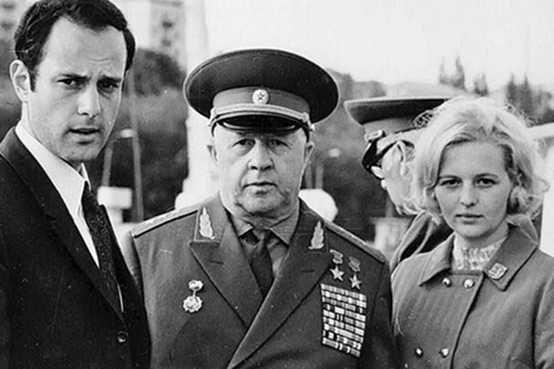 Родимцев. 1973 г.