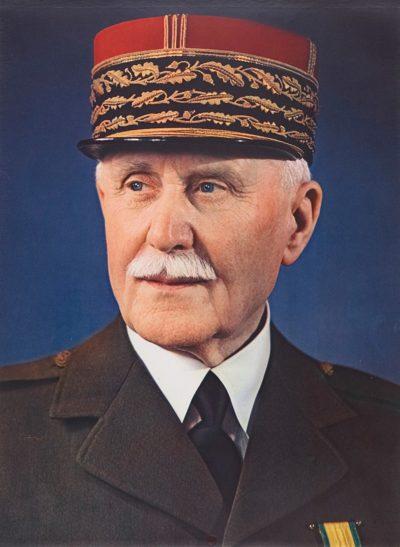 Маршал Анри Филипп Петен. 1940 г.