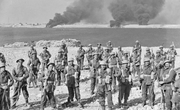 Солдаты 6-й австралийской дивизии в Тобруке. 22 января 1941 г.
