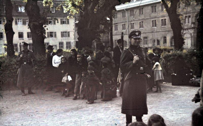 Депортация синти и ромов Асперга. Германия, май 1940 г.