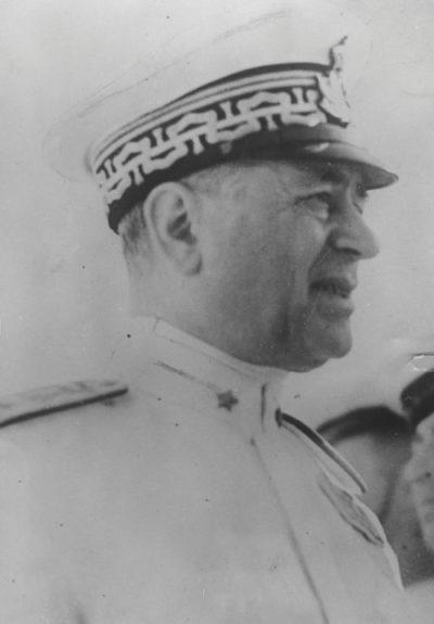 Итальянский адмирал Иниго Кампиони.