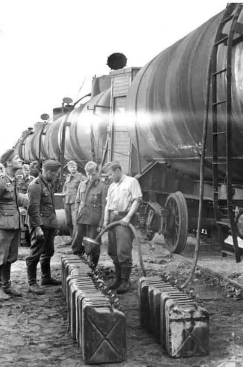 Советское топливо для Вермахта.