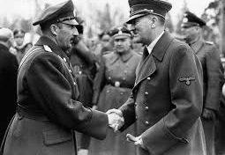 Болгарский царь Борис III и Адольф Гитлер.