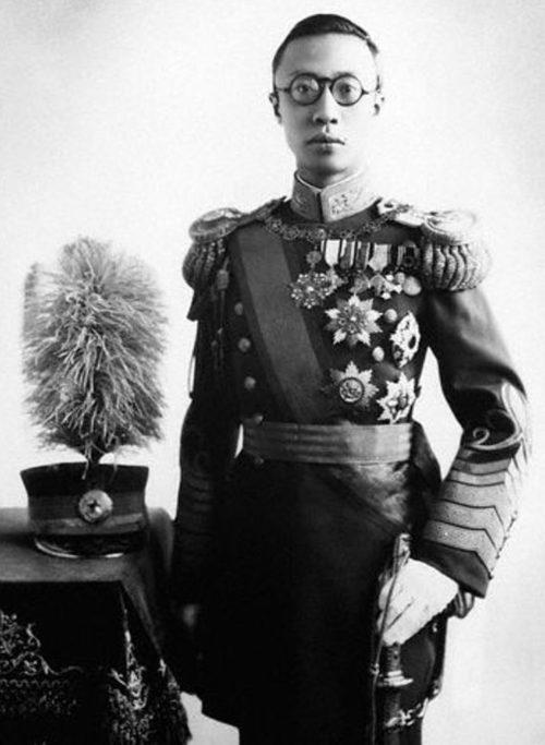 Правитель Маньчжоу-Го Пу И.