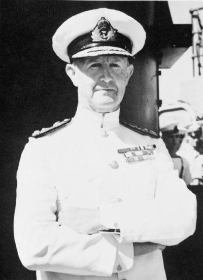 Британский адмирал Эндрю Каннигхэм.