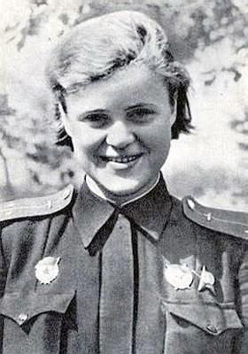 Лейтенант Руднева. 1943 г.