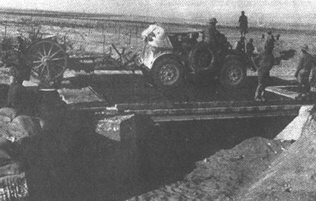 Наступление итальянских войск.