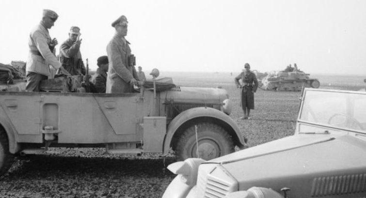 Роммель в Северной Африке. 1942 г.
