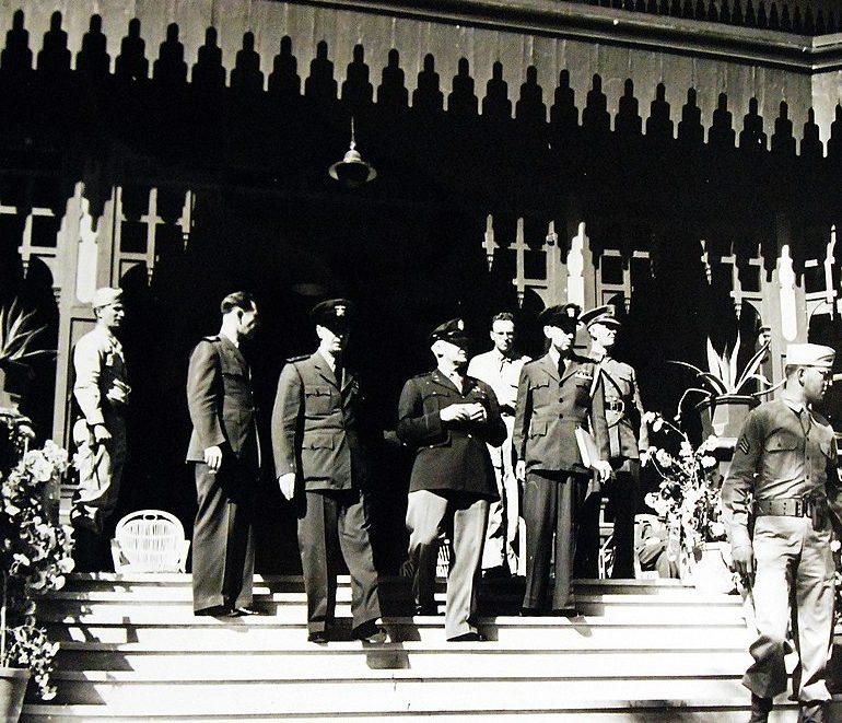 Военачальники во время Каирской конференции. Ноябрь 1943 г.