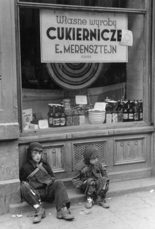 Варшавское гетто. 1941 г.