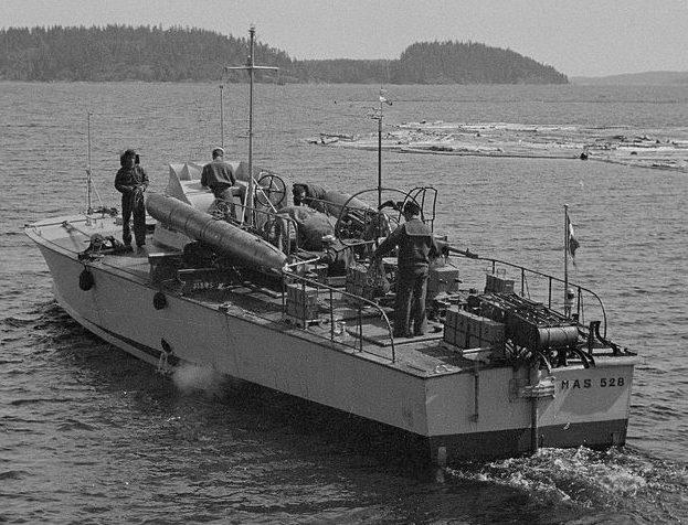 Торпедный катер типа МАS.