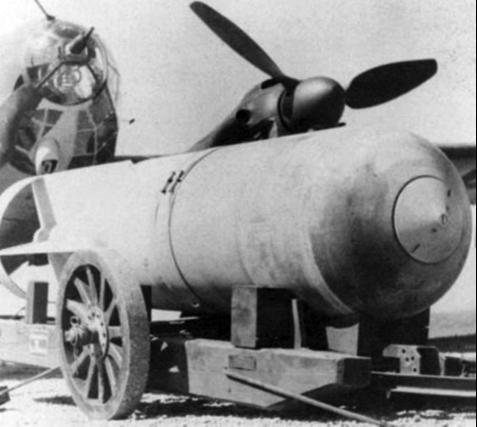 Немецкая фугасная бомба SC-2000.