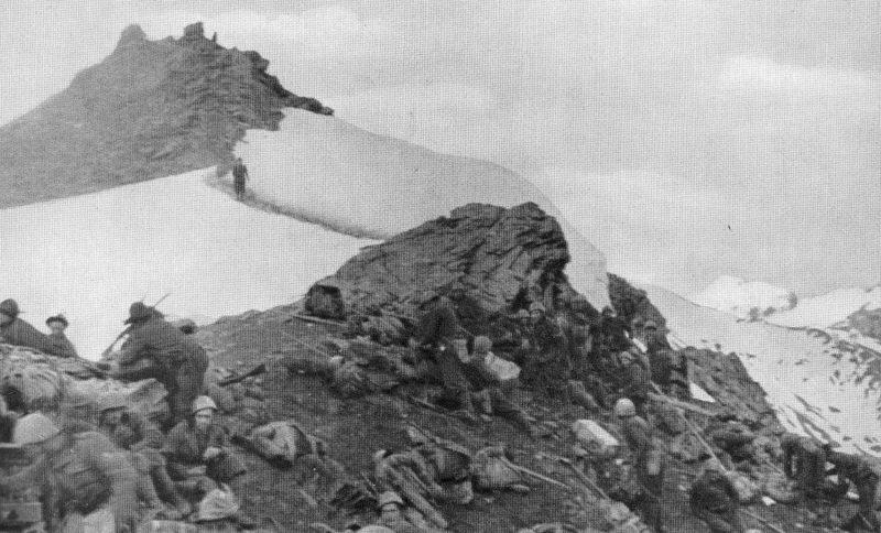 Отражение итальянского вторжения в Альпах. Колле делла Пелузе, июнь 1940 г.