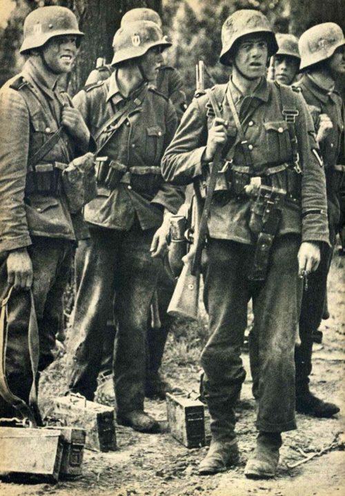 33-я гренадерская дивизия СС «Шарлемань» на Восточном фронте.