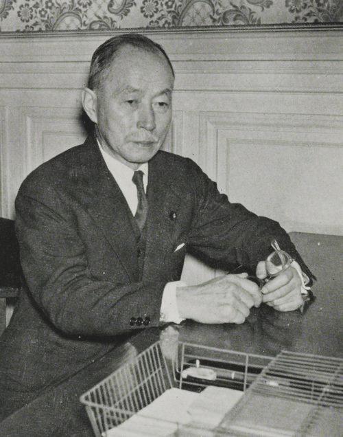 Посол Японии в СССР Наотакэ Сато.