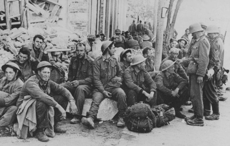 Англичане в плену. Апрель, 1941 г.