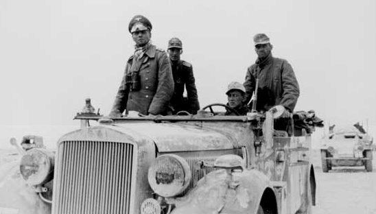 Роммель в Северной Африке. 1943 г.