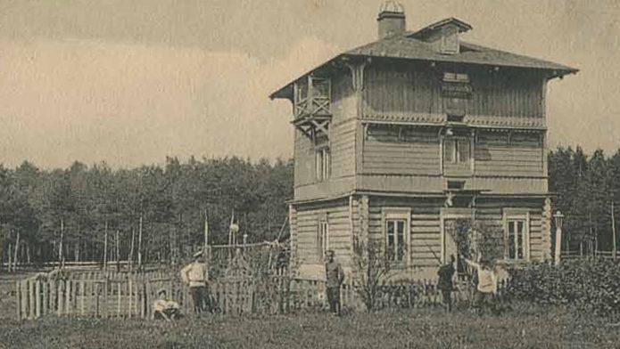 Военно-голубиная станция российской армии в Барановичах. 1915 г.