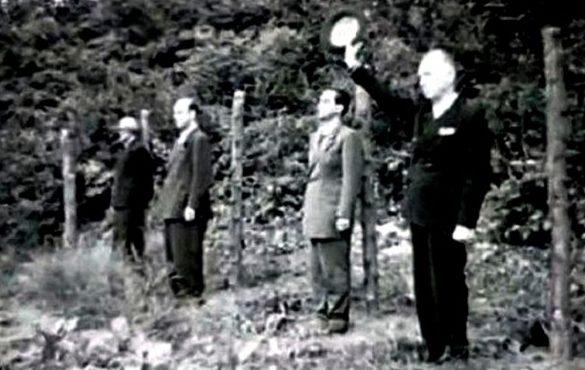 Расстрел Антонеску и его соратников. 1 июня 1946 г.
