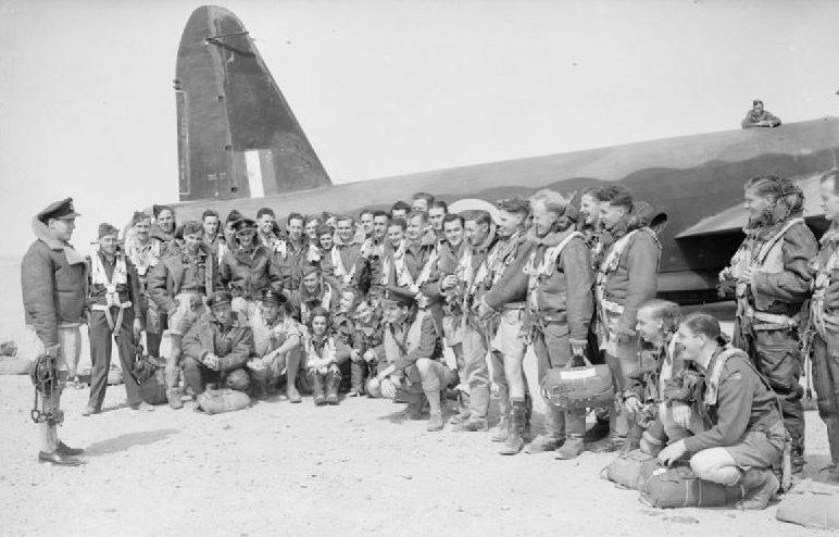 Британские ВВС в Египте.