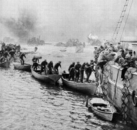 Эвакуация из Дюнкерка.