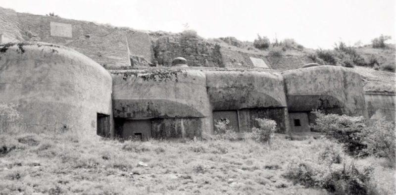 Блок №7 в годы войны и сегодня.