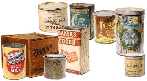 Наборы ленд-лизовских продуктов чаще всего, попадавших на фронт.