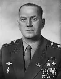 Маршал авиации Савицкий. 1961 г.