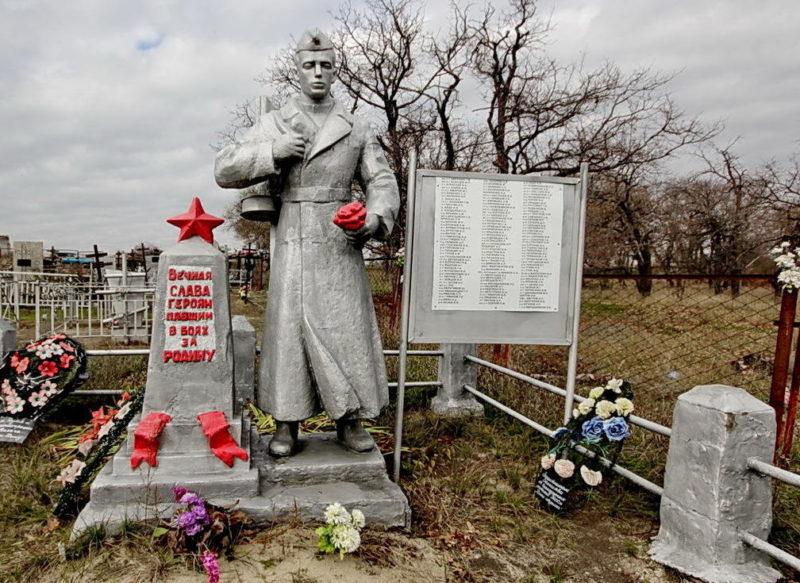 п. Дом Отдыха Калачевского р-на. Братская могила советских воинов.