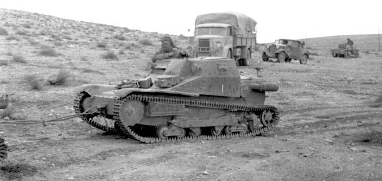 Наступление итальянских войск в Египте. 1940 г.