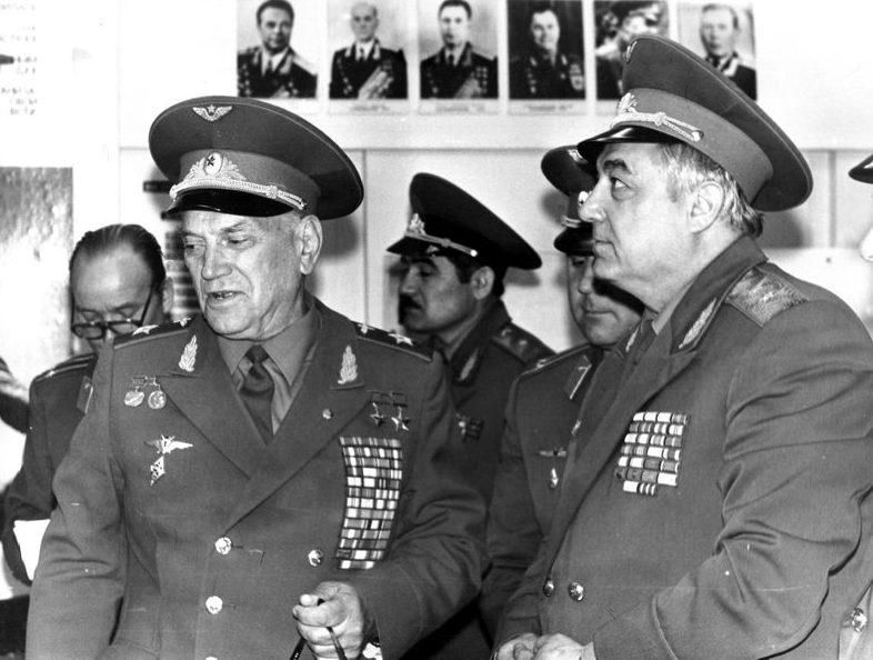 Маршал Савицкий. 1985 г.