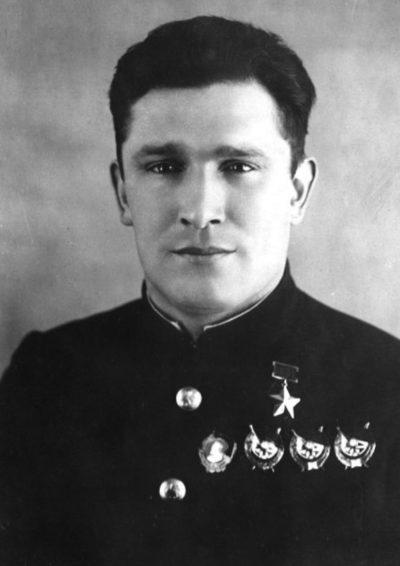 Герой Советского Союза Сафонов. 1941 г.
