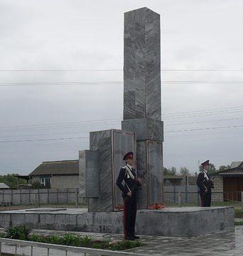 ст-ца. Етеревская Михайловского р-на. Памятник советским воинам.
