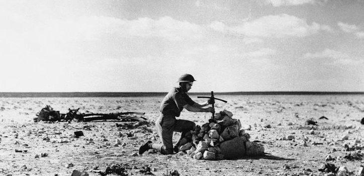 Могила итальянских летчиков. 1940 г.