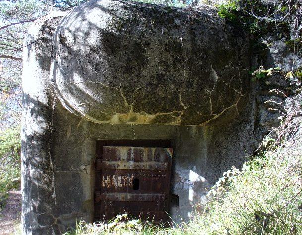Пехотный блок форта.