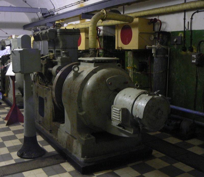 Дизель-генератор форта.