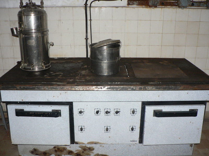 Кухонная плита.