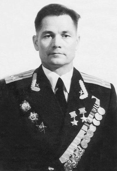 Полковник Сивков. 1955 г.