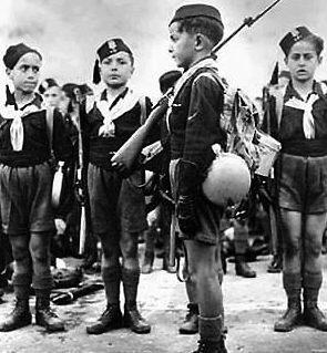 Члены детской фашистской организации Италии «Балилла».