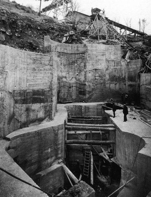 Период строительства форта.
