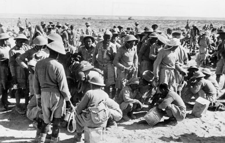 Итальянские военнопленные. 1941 г.