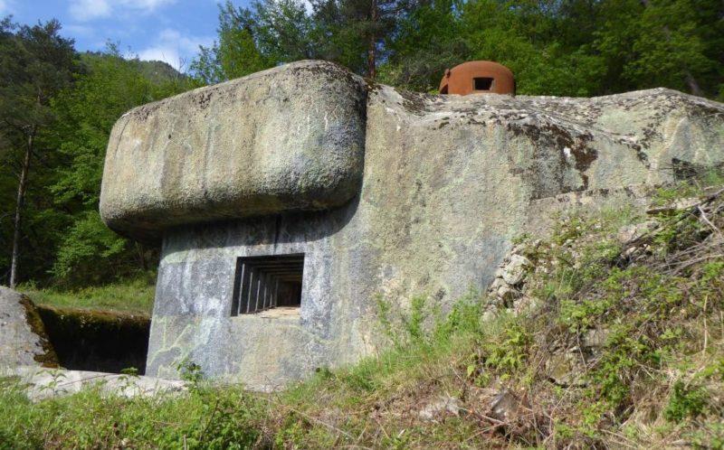 Блок №2 в годы войны и сегодня.