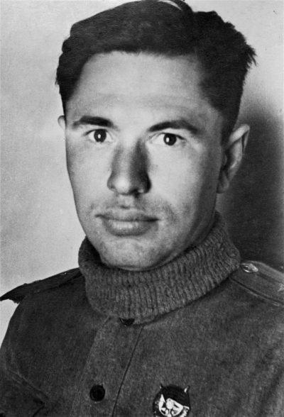 Младший лейтенант Скоморохов. 1943 г.