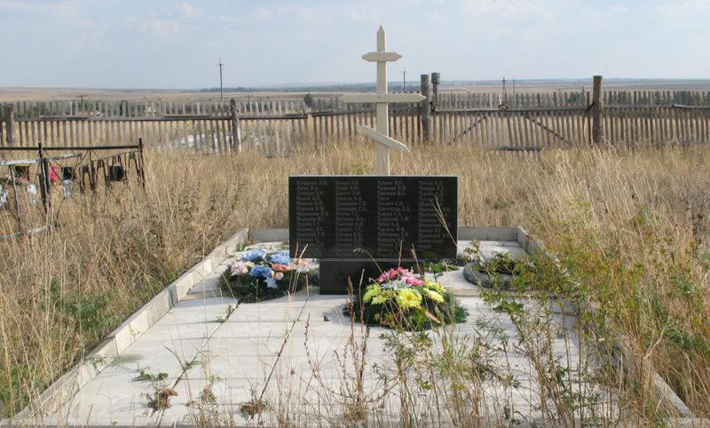 х. Нижние Липки Фроловского р-на. Братская могила советских воинов.