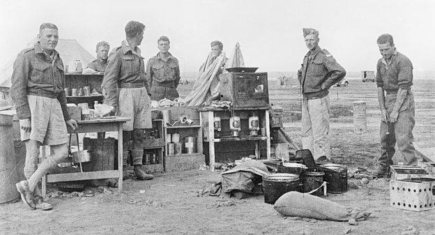 Британская кухня в пустыне. 1941 г.