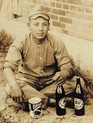 Пиво в японской армии – обыденное явление.