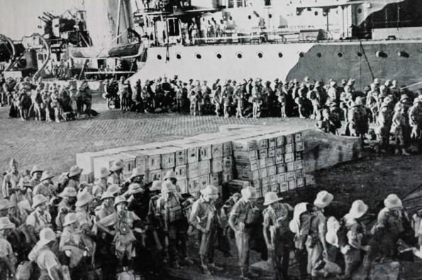 Польские войска в Каире. 1941 г.